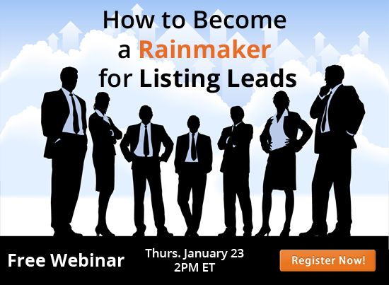 (English) [Webinar] How do you Become a Listing Leads Rainmaker?