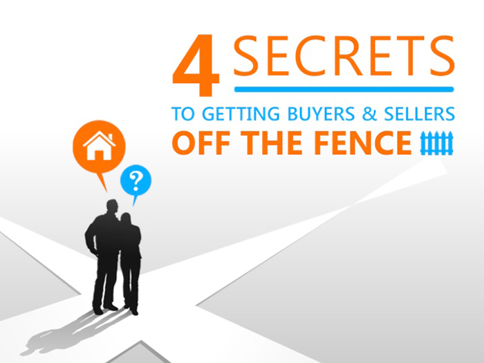 (English) How to Get Buyers & Sellers Off the Fence!