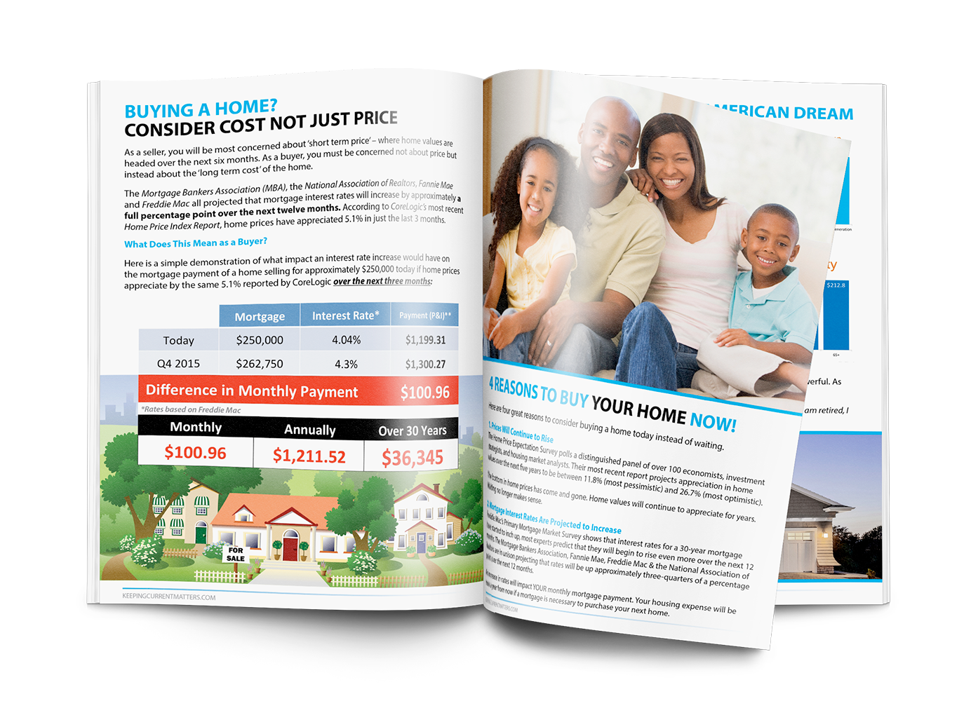 Things To Consider When Buying A Home   Summer 2015   Keeping Current Matters