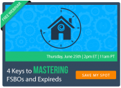 4 Keys to Mastering FSBOs and Expireds | Keeping Current Matters