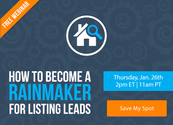 Find Out How to Become a Rainmaker for Listing Leads [FREE WEBINAR] | Keeping Current Matters