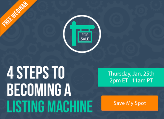Learn the 4 Steps to Becoming a Listing Machine [FREE WEBINAR]