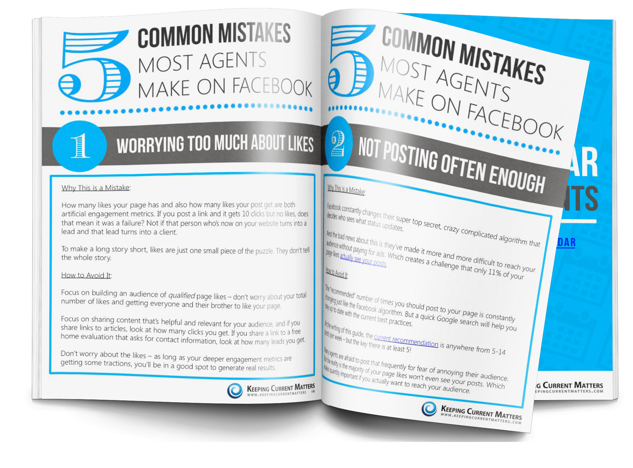 5 Common Mistakes Most Agents Make on Facebook Download - Keeping