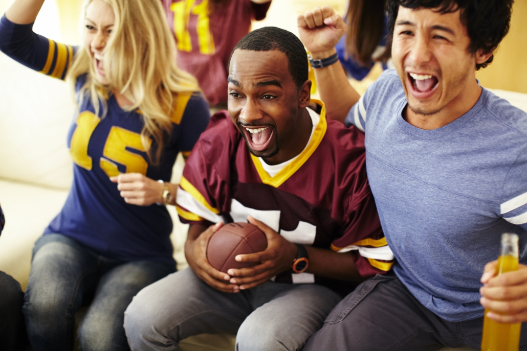 Game Day or tailgating parties can be great for client appreciation events.