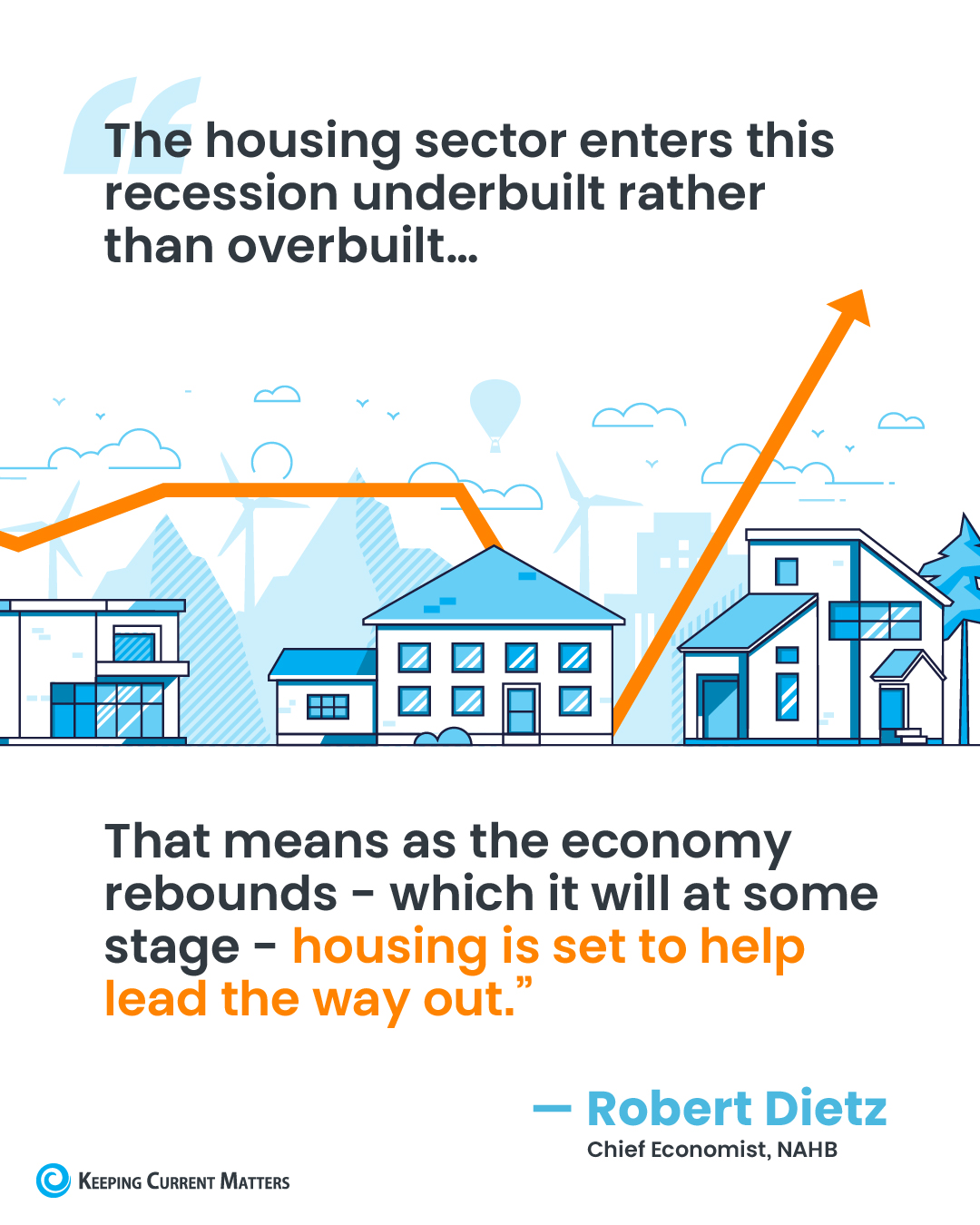 The Housing Market Is Positioned to Help the Economy Recover [INFOGRAPHIC] | Keeping Current Matters
