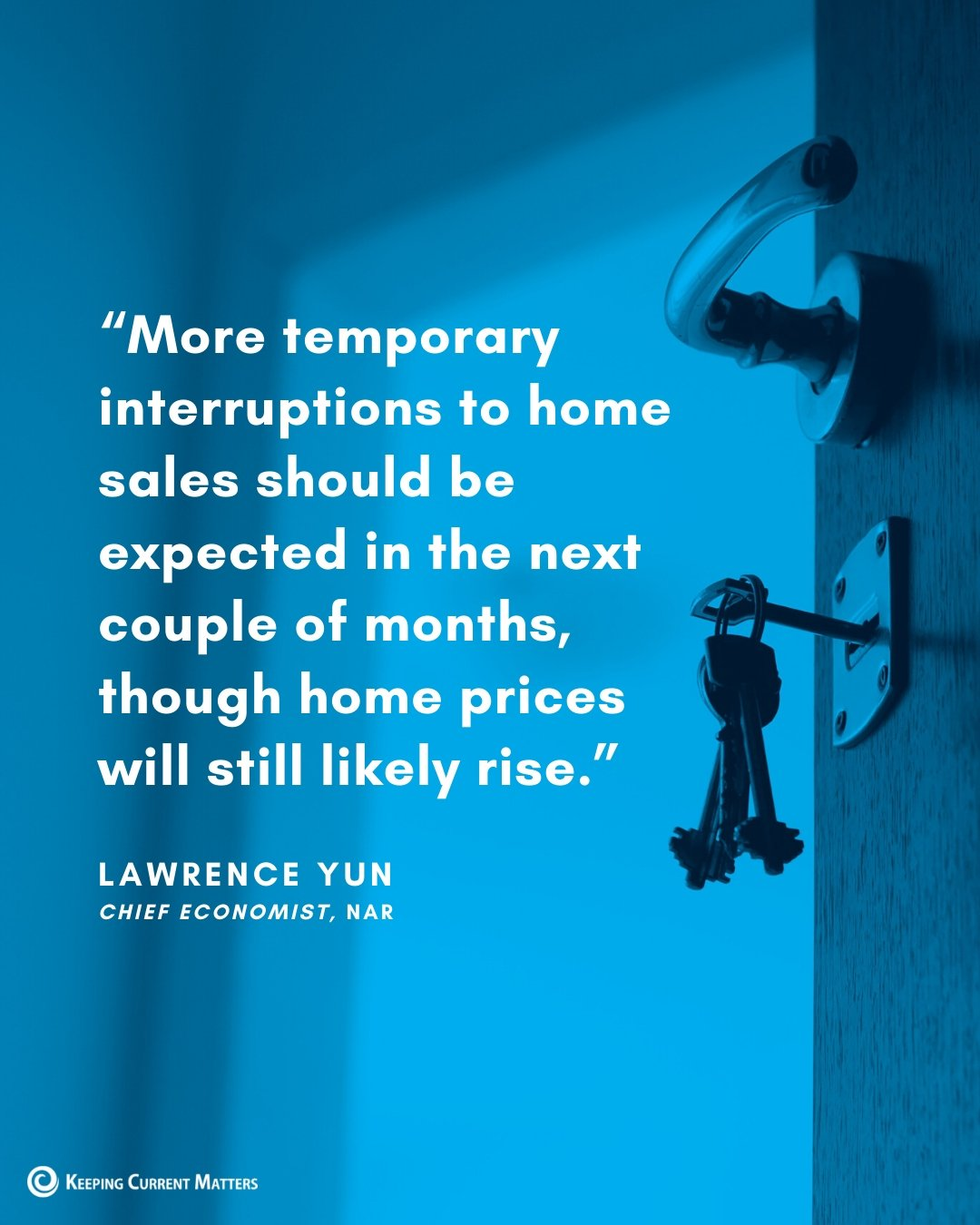 Today's Expert Insight on the Housing Market [INFOGRAPHIC] | Keeping Current Matters