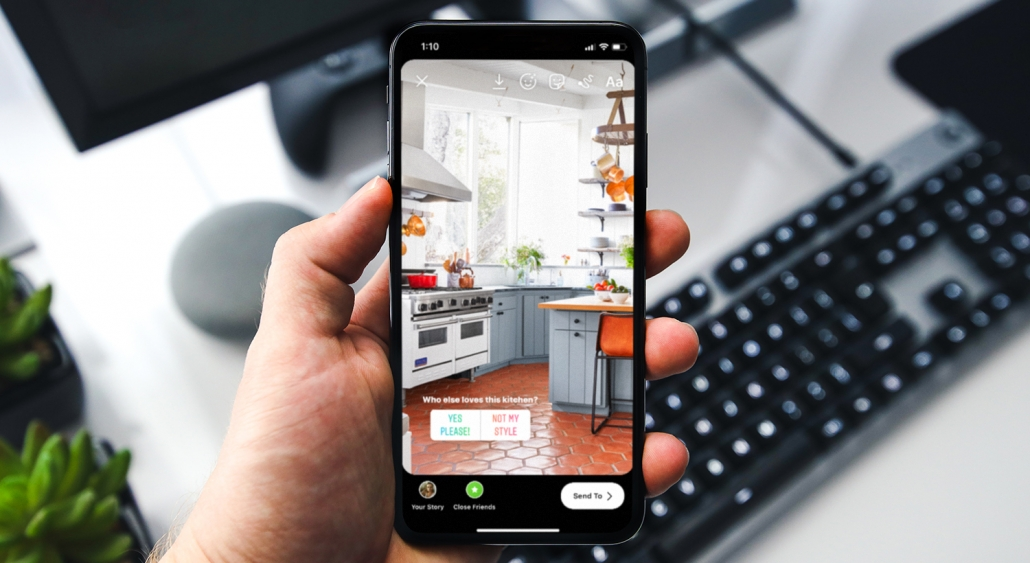 simple instagram stories for real estate agents