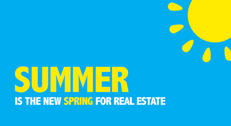 Summer is the New Spring for Real Estate [INFOGRAPHIC] | Keeping Current Matters