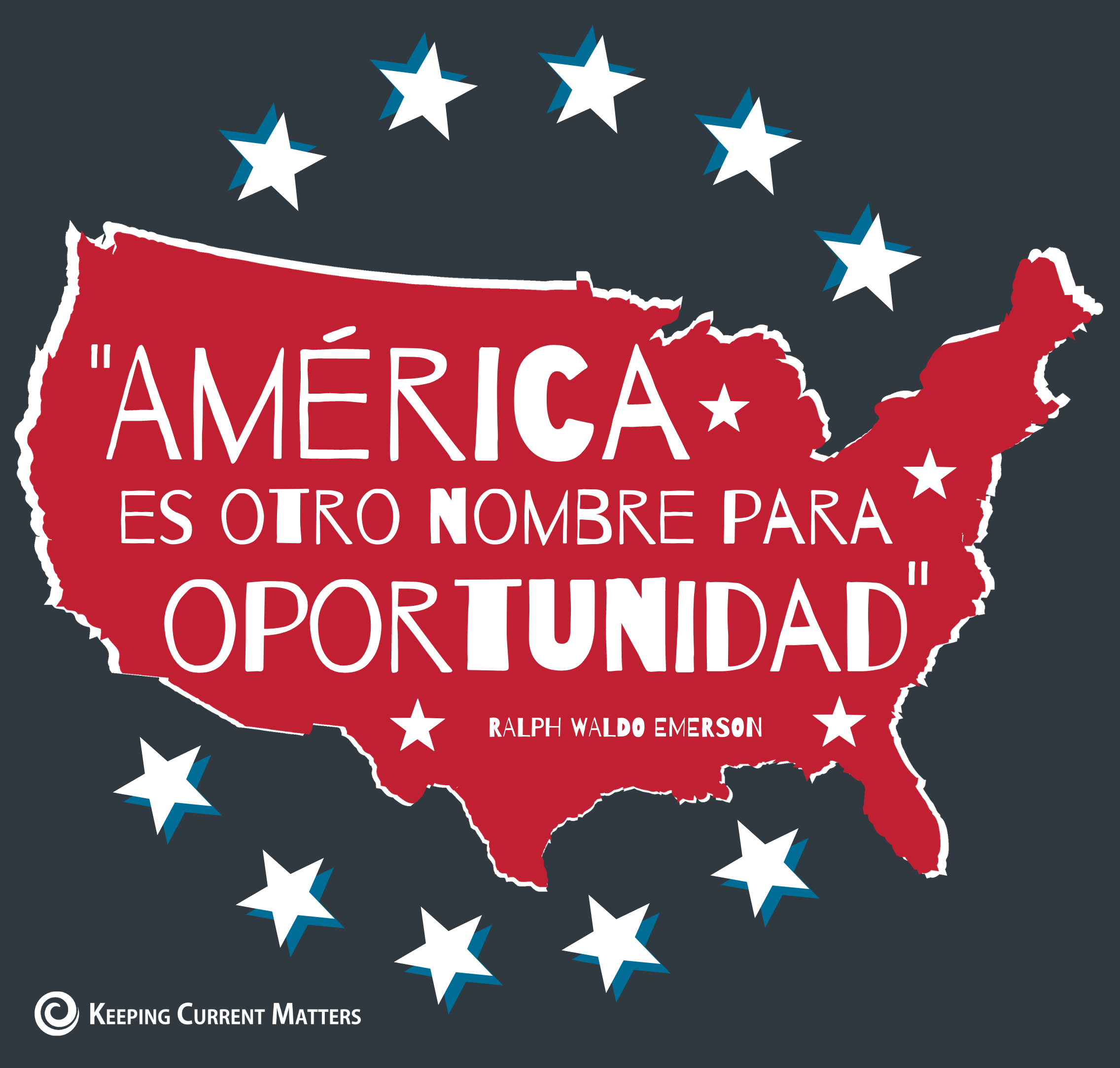América es otro nombre para oportunidad [infografía] | Keeping Current Matters