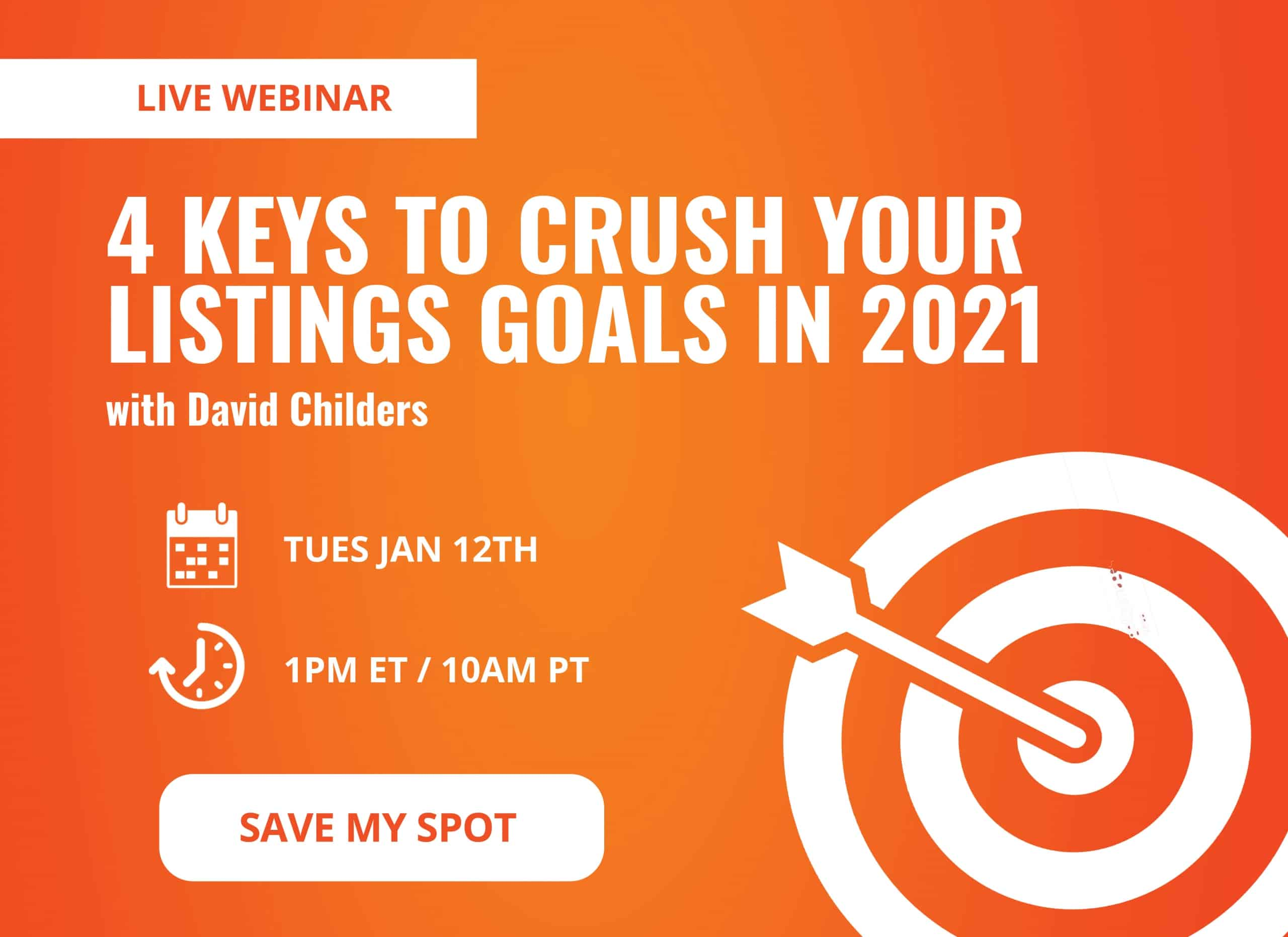 4 Keys to Crush Your Listings Goals in 2021 | Keeping Current Matters