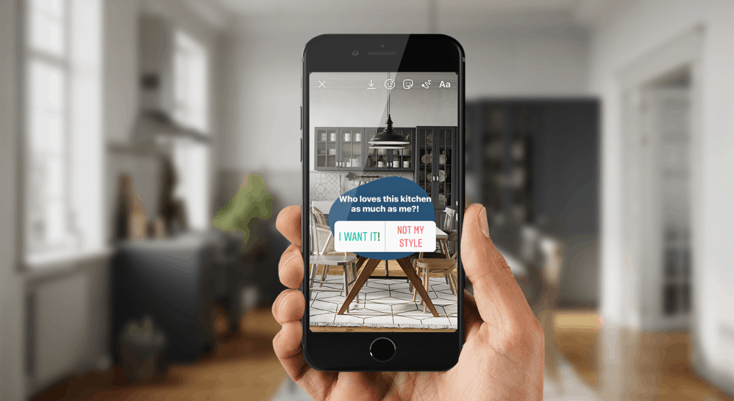 Instagram story ideas for real estate agents